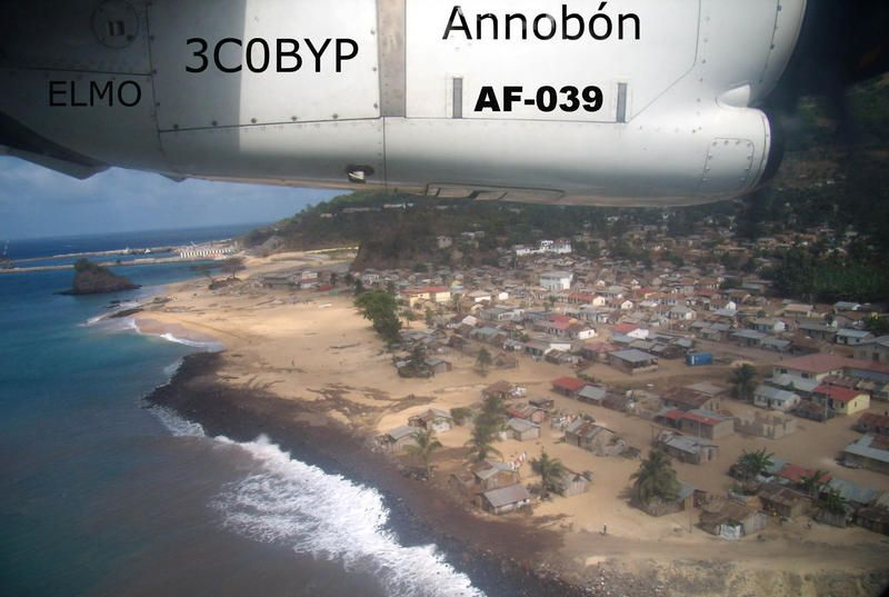 Остров Аннобон Экваториальная Гвинея 3C0BYP