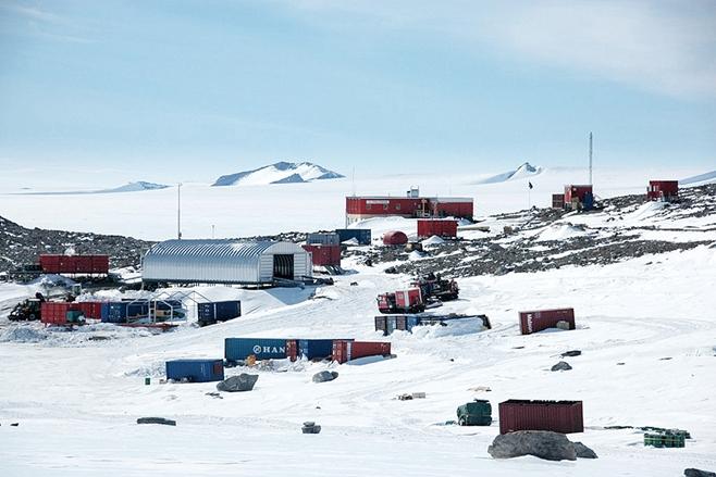 Антарктида Земля Королевы Мод Станция Тролл 3Y8XSA