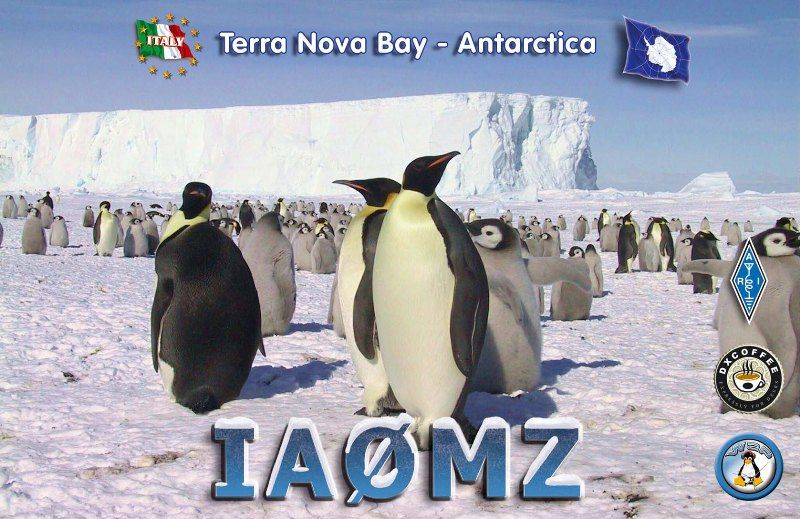 Antarctica IA0MZ QSL