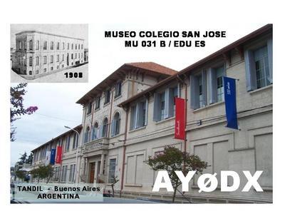 Аргентина AY0DX