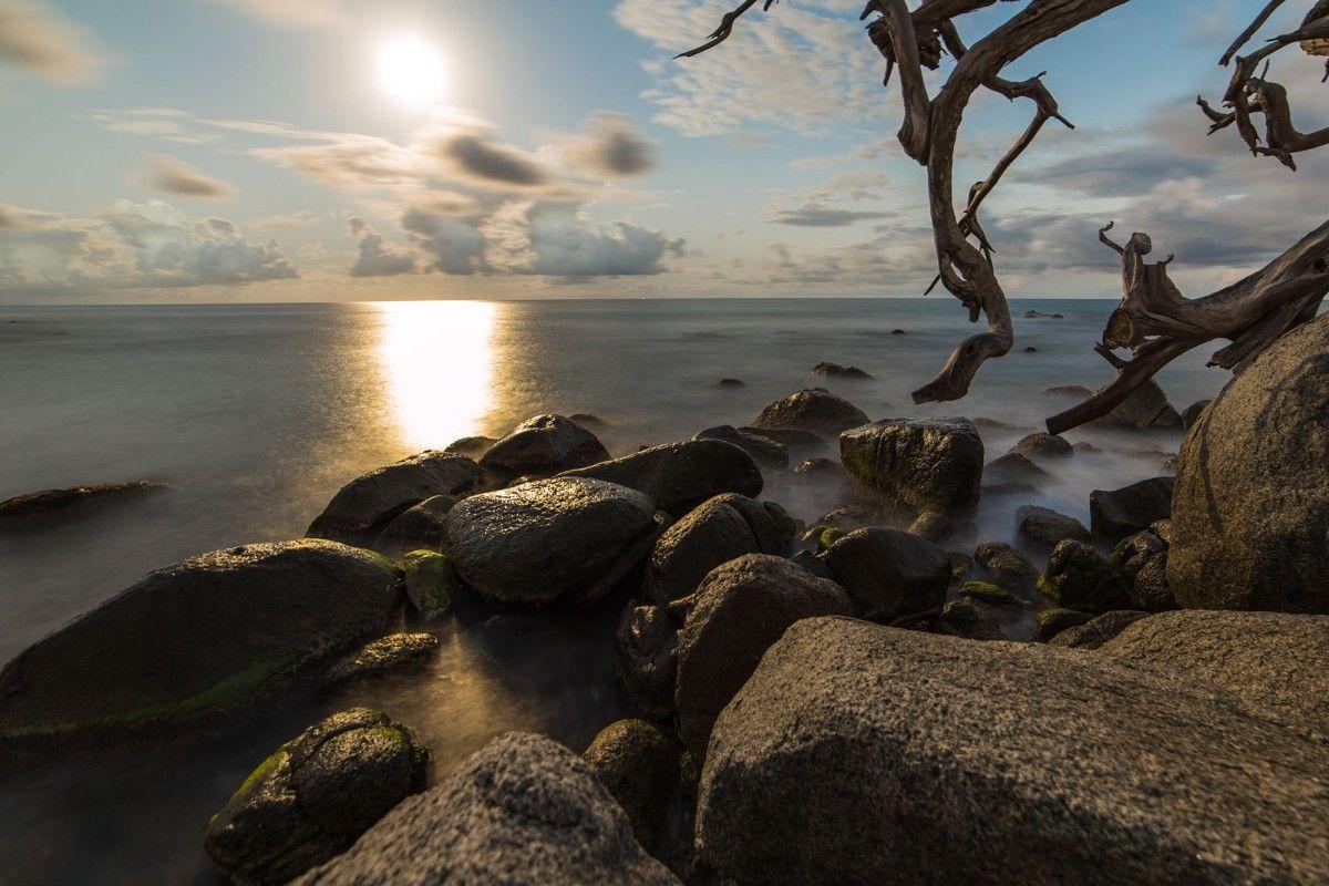 Аруба P40F Восход солнца