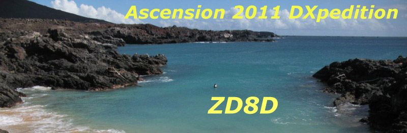 Ascension Island ZD8D News