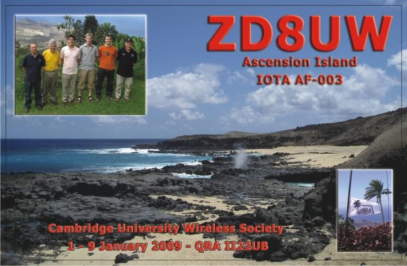 Ascension Island ZD8UW