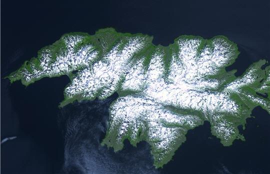 Attu Island Aleutian Island KL7NWR