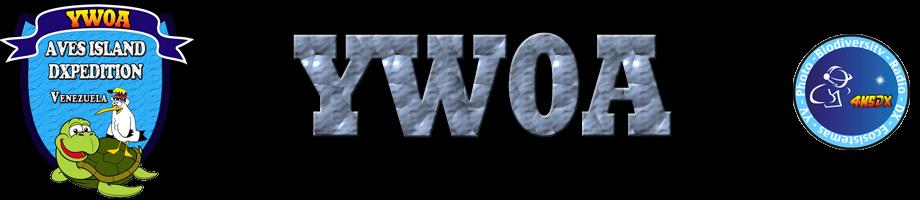Aves Island YW0A Logo