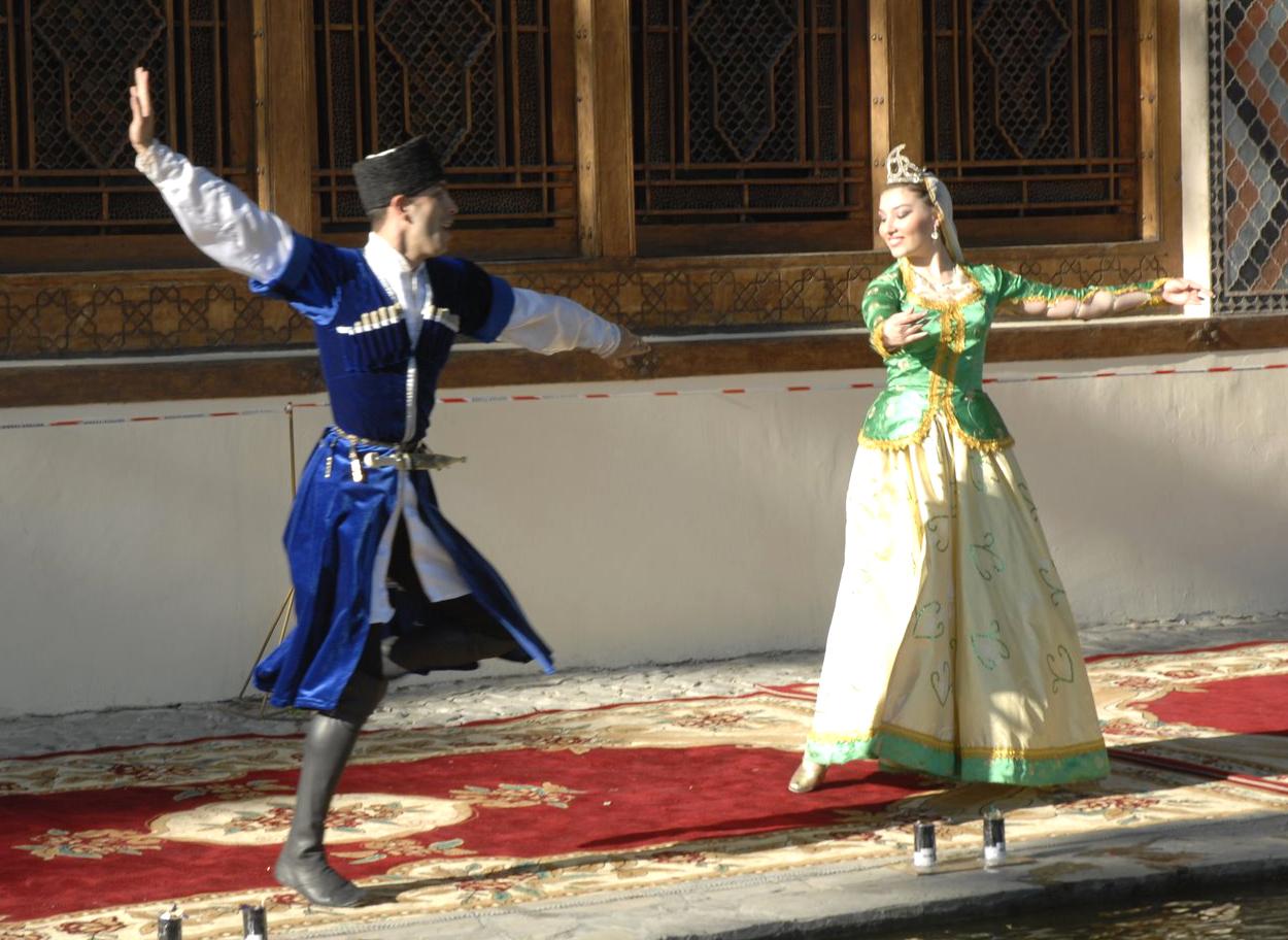 Азербайджан 4K3AC Национальный Танец