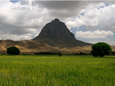 Азербайджан Нахичевань Змеиная Гора Ноев Ковчег 4JA3USA