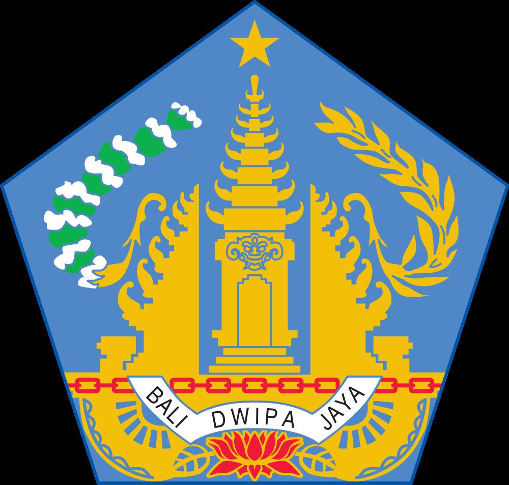 Остров Бали Герб острова Бали YB9/PB5X
