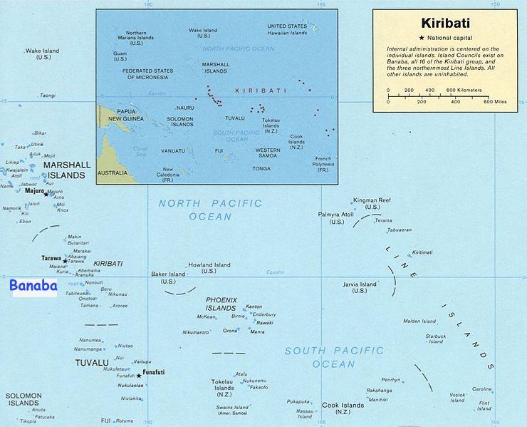 Остров Банаба T33X