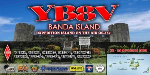 Острова Банда YB8V