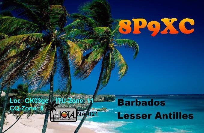 Barbados 8P9XC