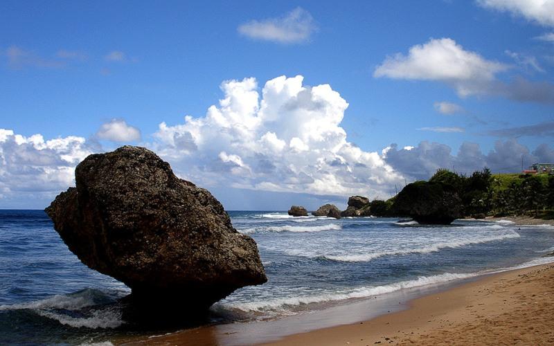 Барбадос Туризм Пляж 8P5A