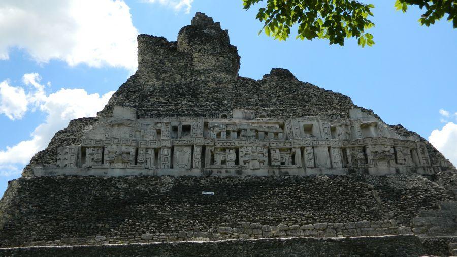 Белиз V31WU V31DV Туристические достопримечательности Пирамида Майя