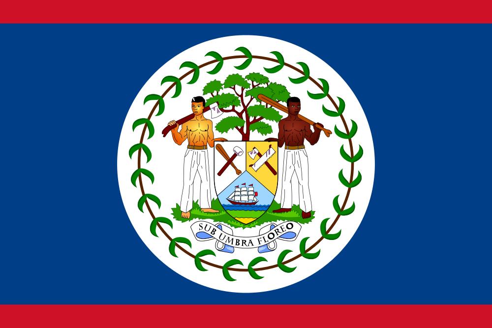 Белиз Флаг Белиза