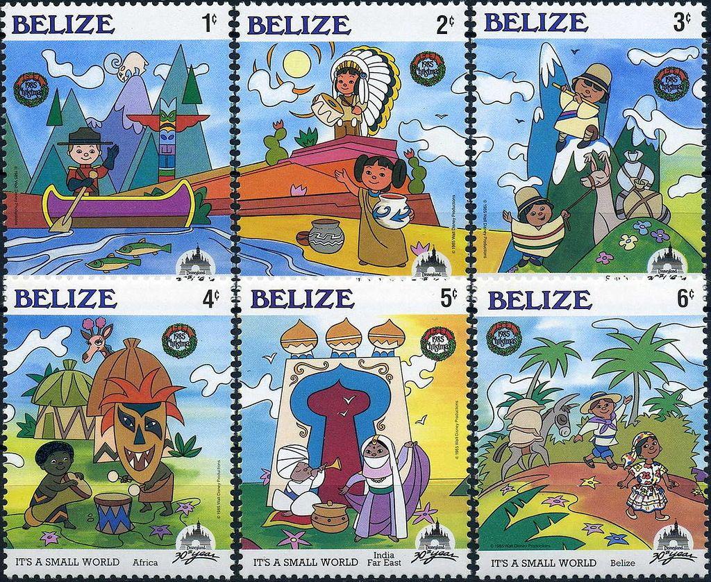 Белиз V31NX Почтовые марки