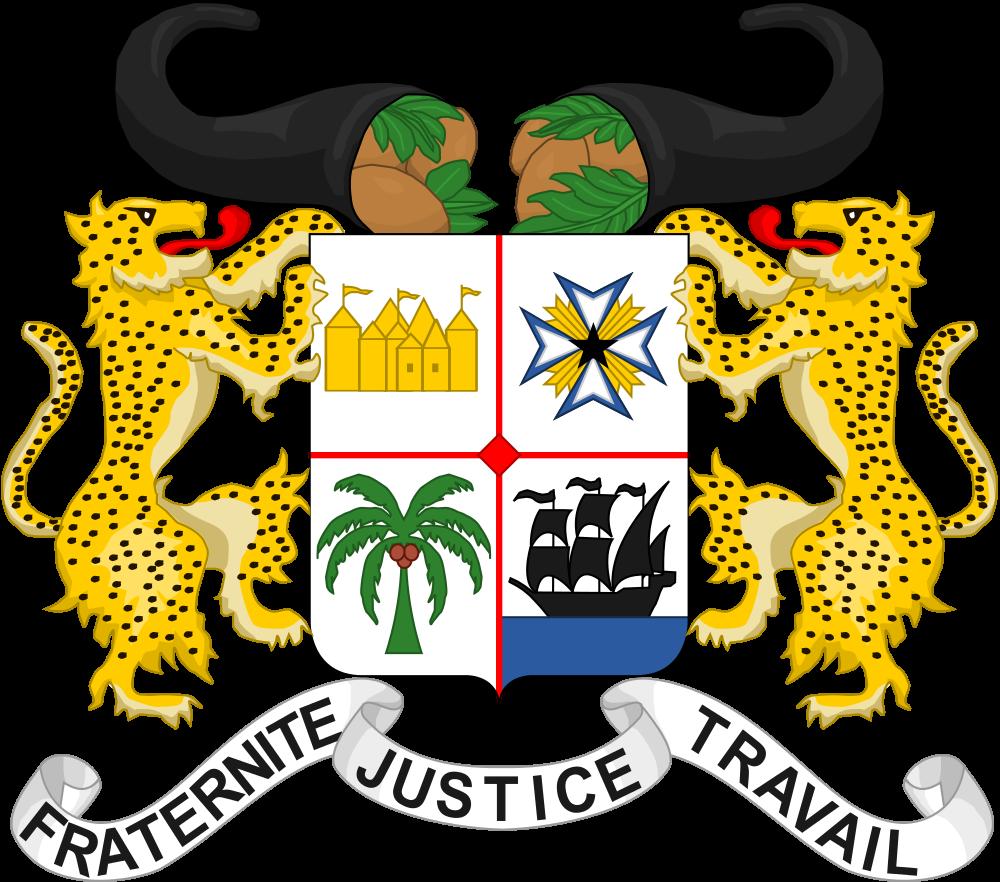 Benin Coat of Arms Benin TY2BP