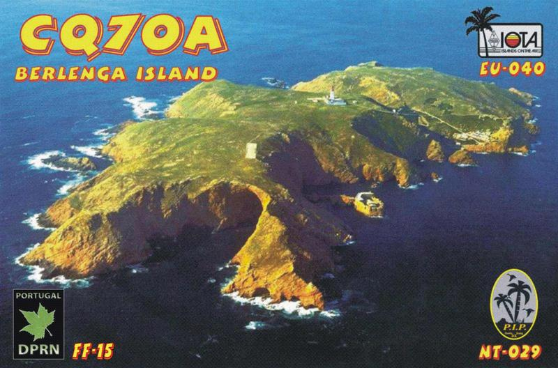 Berlenga Island CQ7OA