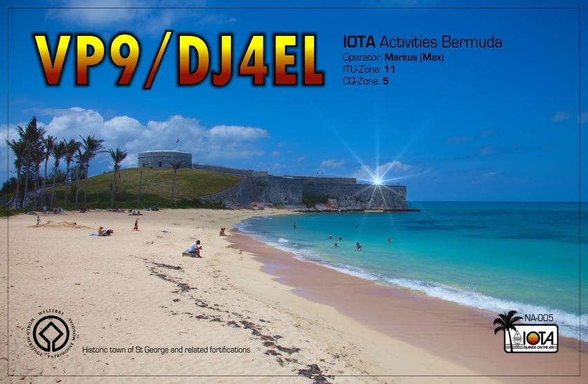 Bermuda VP9/DJ4EL