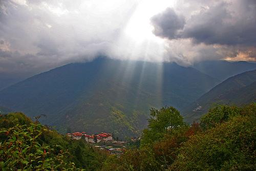 Bhutan A5 Black Mountains