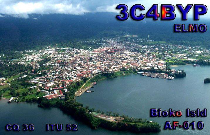 Bioko Island Equatoria Guinea 3C4BYP