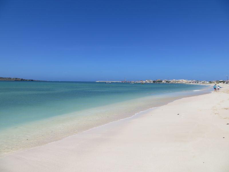 Остров Боавишта Кабо Верде Острова Зеленого Мыса D44TWQ пляж 2