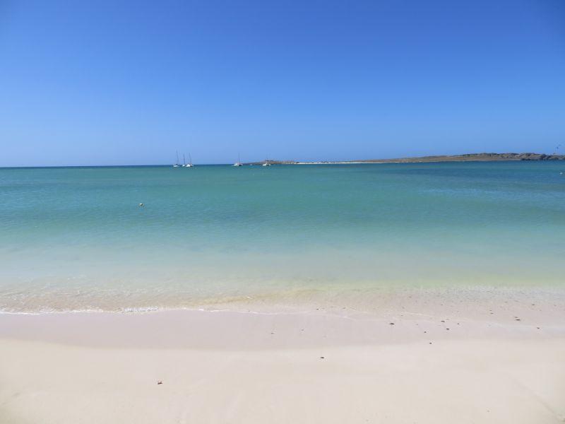 Остров Боавишта Кабо Верде Острова Зеленого Мыса D44TWQ пляж