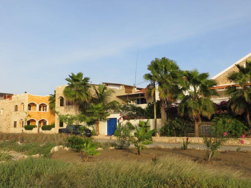 Boa Vista Island Cabo Verde Cape Verde D44TWQ Fiber glass pole