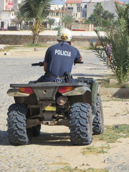 Boa Vista Island Cape Verde Cabo Verde D44TWQ Police