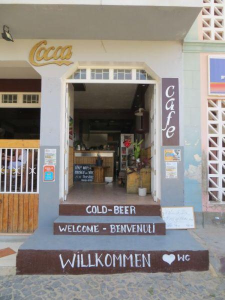 Boa Vista Island Cabo Verde Cape Verde D44TWQ Sal Rei Cafe