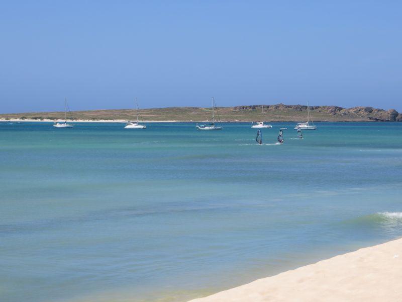 Boa Vista Island Cabo Verde Cape Verde D44TWQ Sal Rey Beach