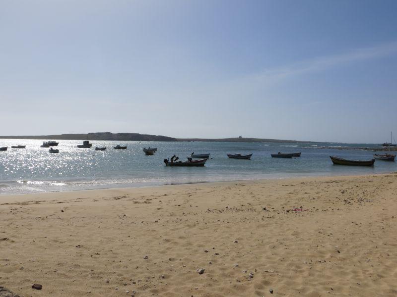Сал Рей Залив Остров Боавишта Кабо Верде Острова Зеленого Мыса  D44TWQ