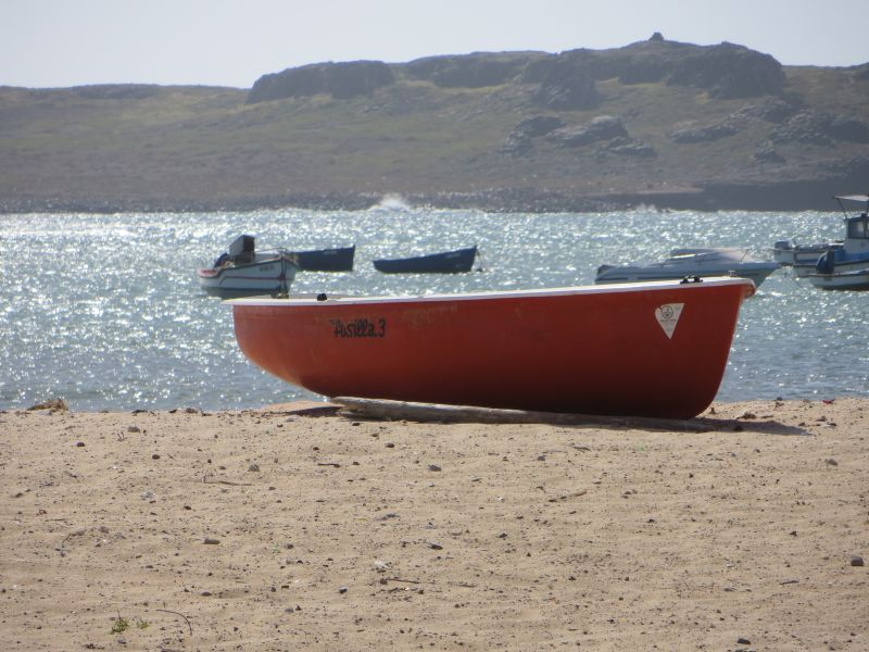Boa Vista Island Cabo Verde Cape Verde D44TWQ Sal Rey Harbour