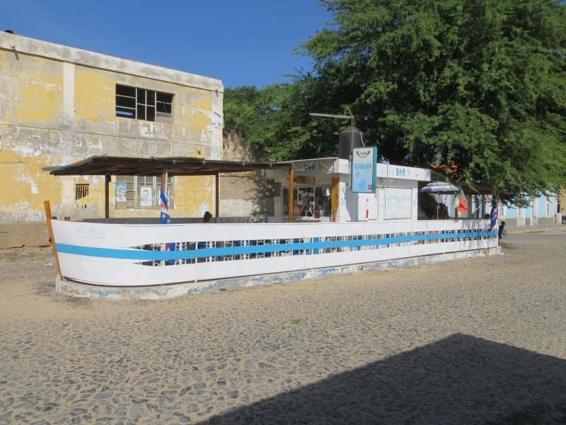 Остров Боа Вишта Кабо Верде Острова Зеленого Мыса D44TWQ Сал Рей центр города