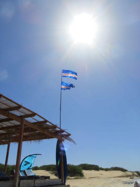 Boa Vista Island Cabo Verde Cape Verde D44TWQ Wind