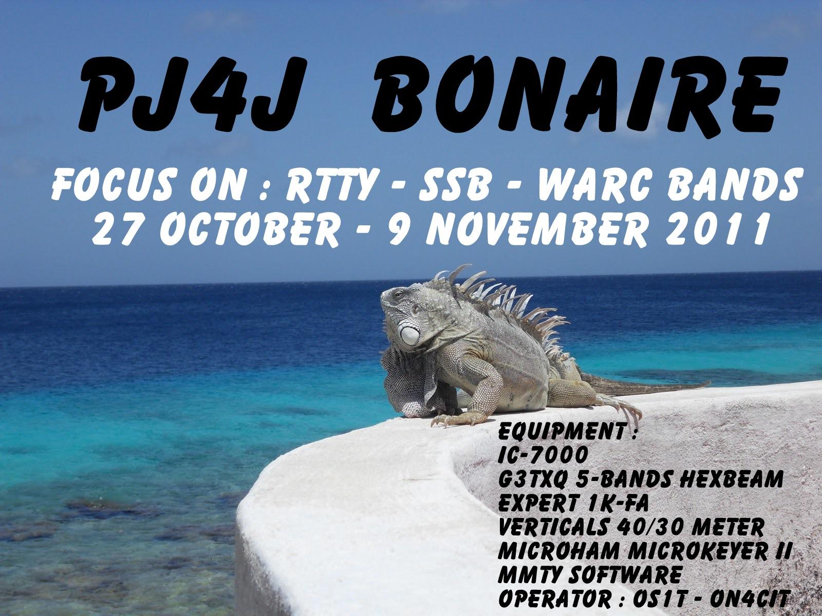 Bonaire Island PJ4J