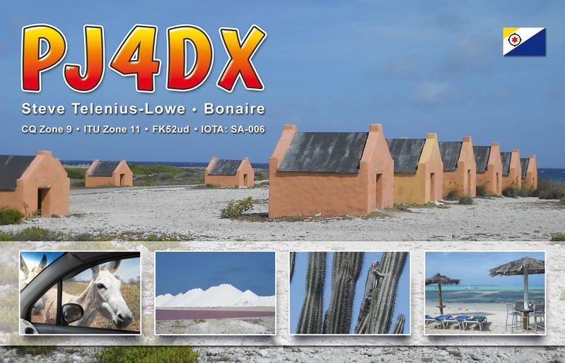 Bonaire Island PJ4DX