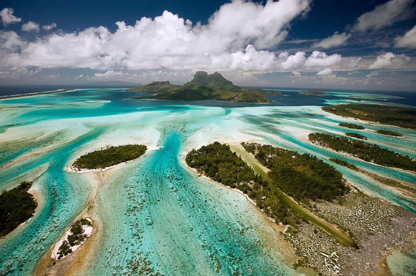 Остров Бора Бора Французская Полинезия FO/F6CTL