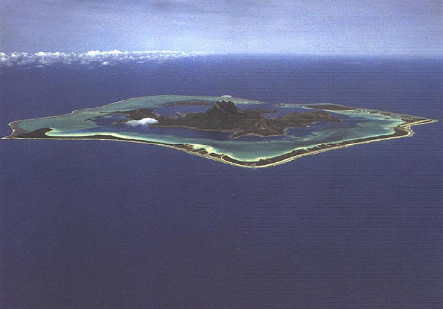 Бора Бора Французская Полинезия FO/HB9STJ
