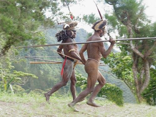 Борнео 9M6/UA3QNS Племя Каннибалов