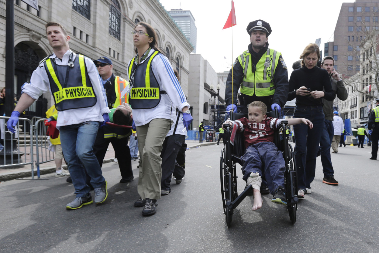 Great cooperation of Radio Amateurs in Boston Marathon Bombings