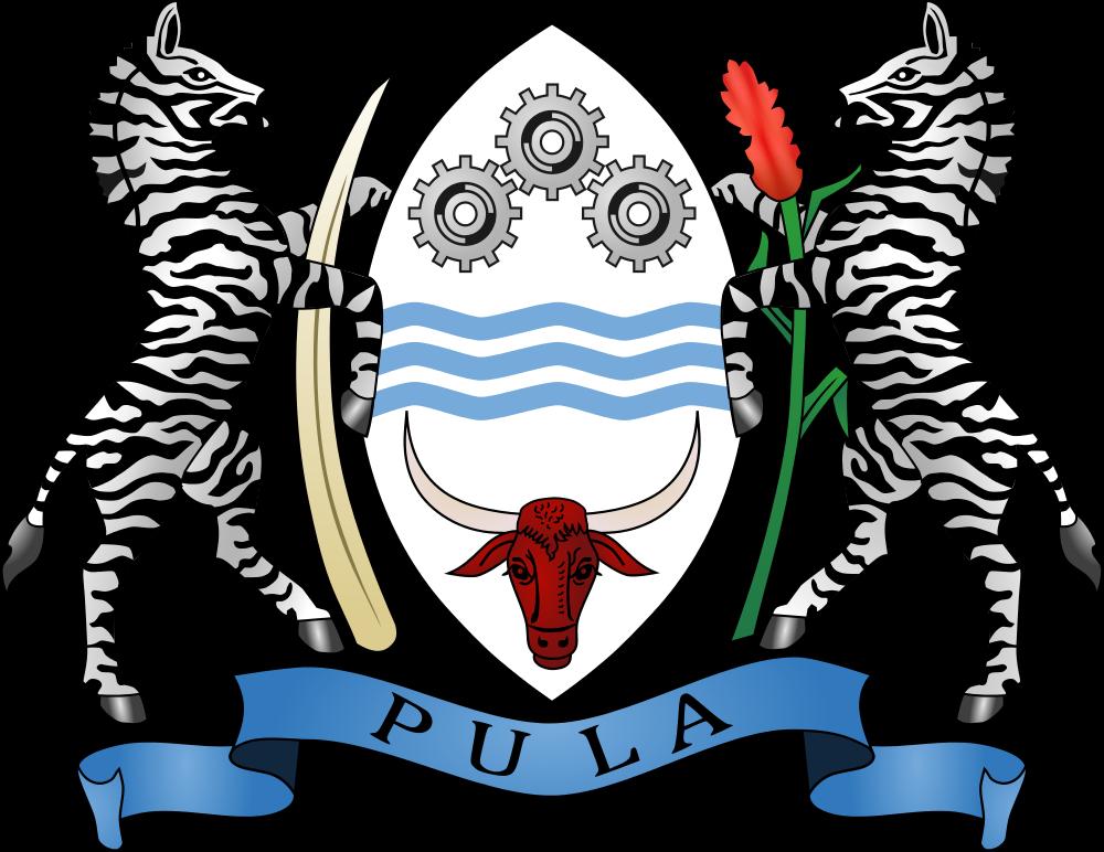Botswana Coat of Arms Botswana A25/HB9CPS