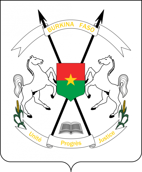 Burkina Faso Coat of Arms of Burkina Faso XT2AW