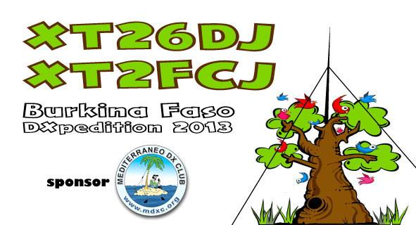 Burkina Faso XT26DJ XT2FCJ QSL