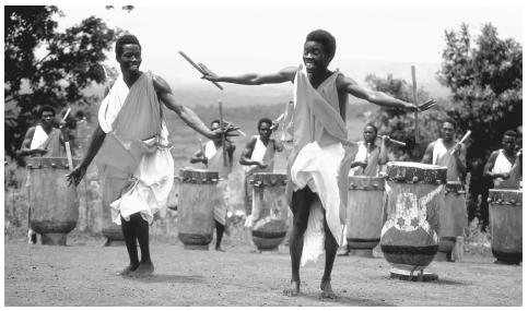 Бурунди Национальный Танец