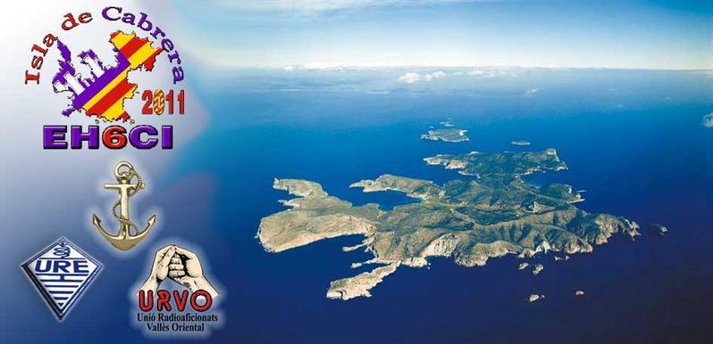 Cabrera Island Balearic Islands EH6CI