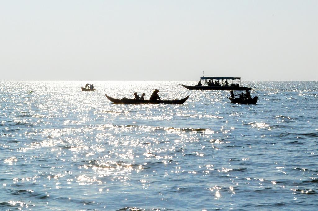 Камбоджа Озеро Тонле Сап