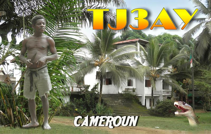 Cameroon TJ3AY QSL DX