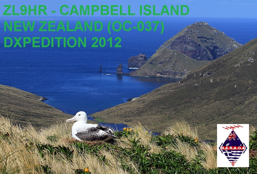 Campbell Island ZL9HR
