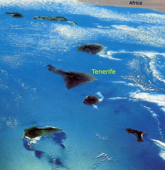 Канарские Острова DX Новости ED8A