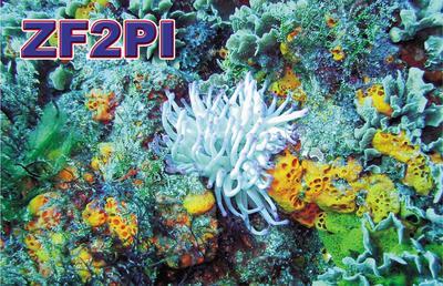 Каймановы Острова ZF2PI